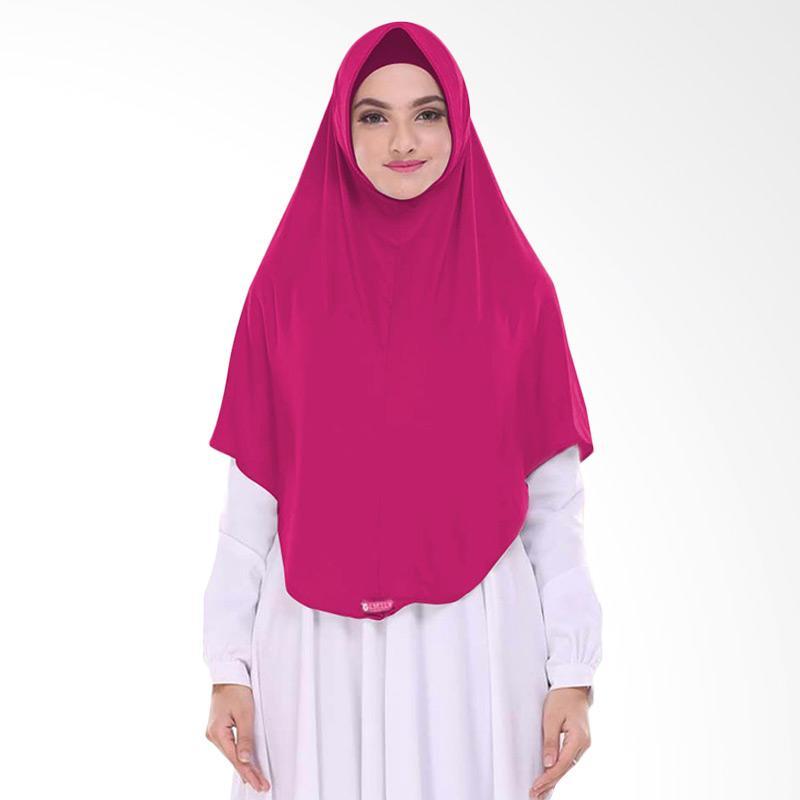 Milyarda Hijab Pashmina Instant BERGO L - Pink