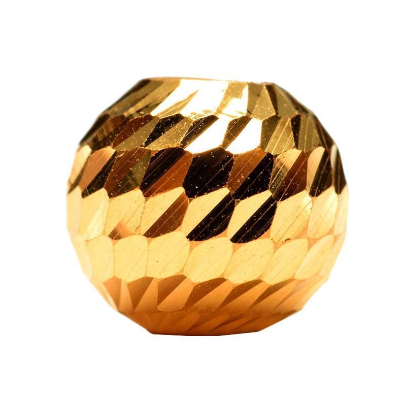 Tiaria Golden Sparkling Ball Charm 0.4g Liontin Emas 24K