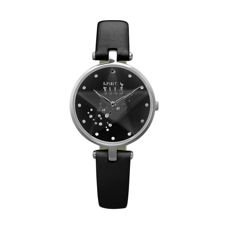 Elle Spirit ES20041S01X Leather Watches Jam Tangan Wanita