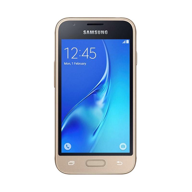 Samsung Galaxy J1 Mini J105 Smartphone - Gold [8 GB/ 768 MB]