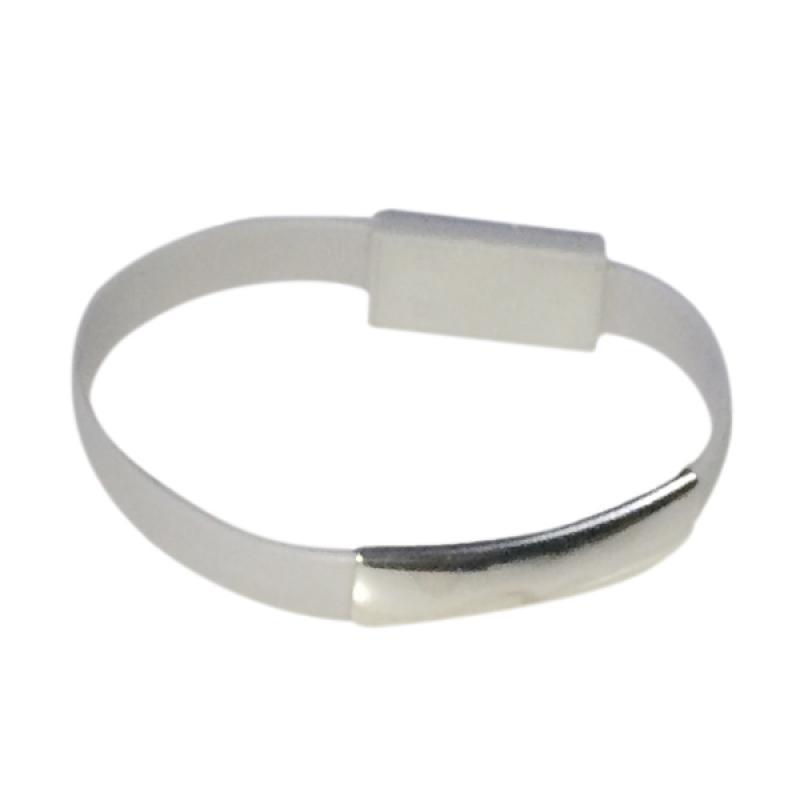 harga VR Gelang Cable Data Micro USB for Micro USB Port - Grey Blibli.com