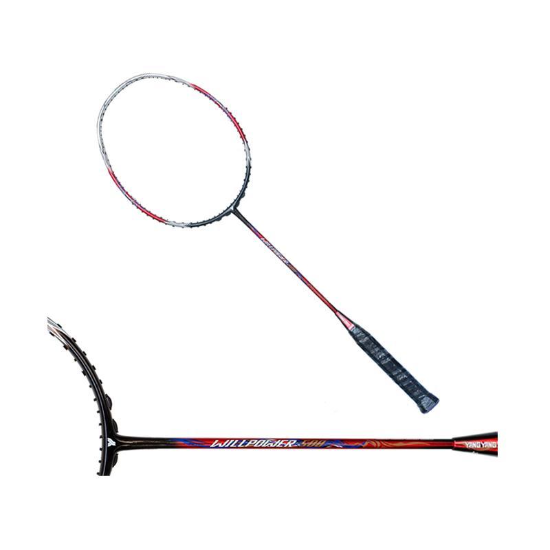 Yang Yang Willpower 500 Raket Badminton - Black Red