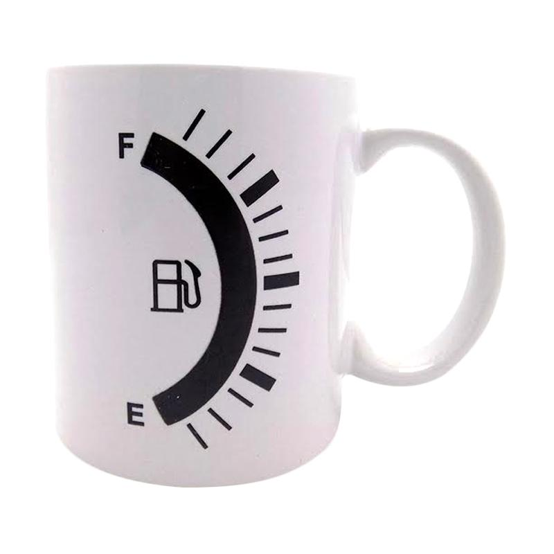 harga Magic Mug Tank up Gelas Ajaib Mug Bunglon - Putih Blibli.com