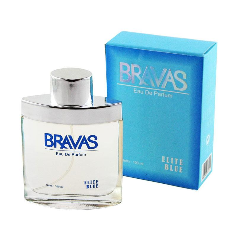 BRAVAS Elite ZZ-CT-671115 EDP Parfum Wanita - Biru [100 mL]