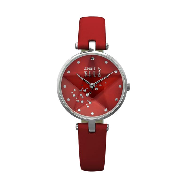 Elle Spirit ES20041S02X Leather Watches Jam Tangan Wanita