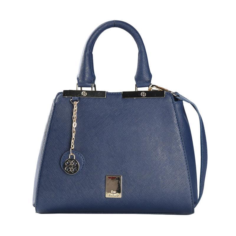 Les Catino Dijon Satchel Tas Wanita - Navy Blue