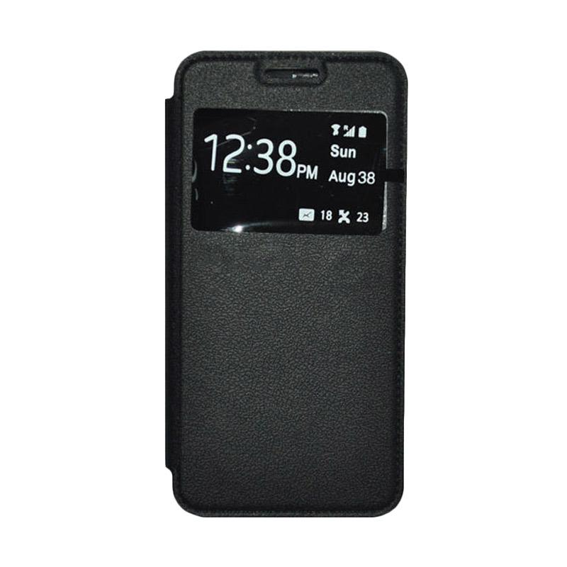 OEM Leather Book Cover Casing for SONY Xperia T3 - Black
