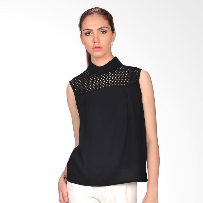 SJO & SIMPAPLY Gracia Women's Blouse - Black