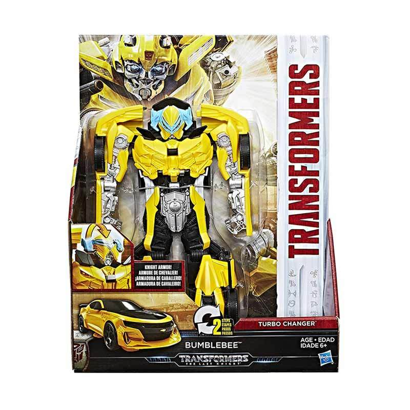 harga Hasbro C1319 Transformers The Last Knight - Knight Armor Turbo Changer Bumblebee Action Figure Blibli.com