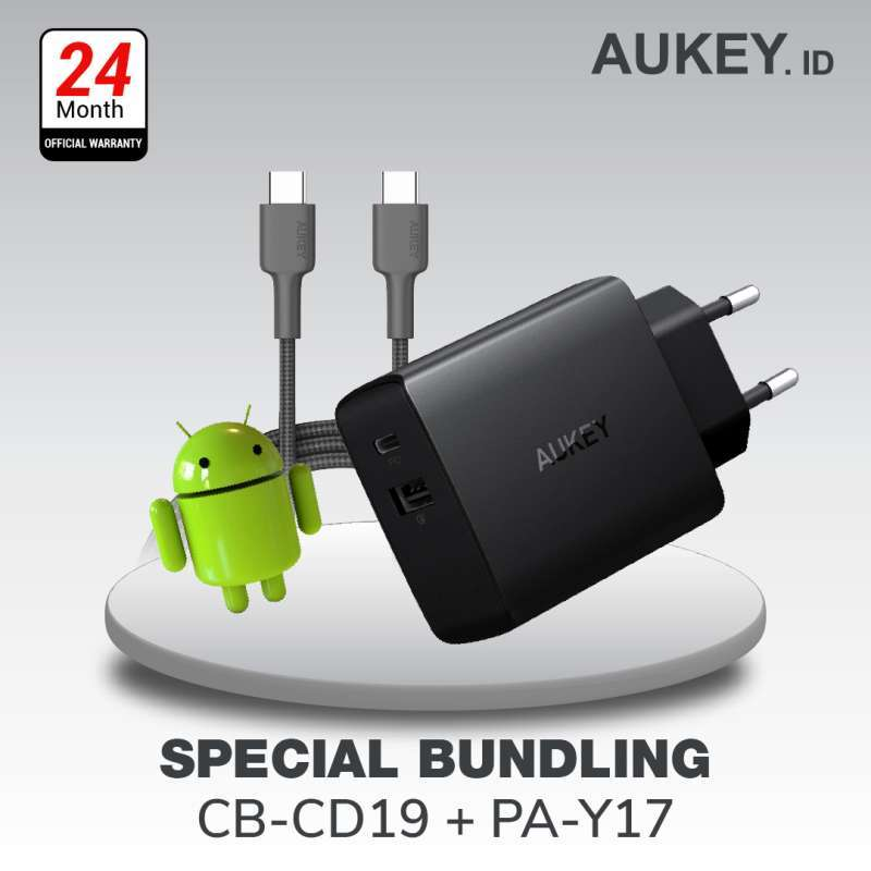 Aukey Charger Aukey Cable