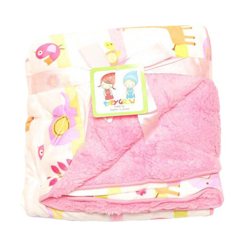 Chloe Babyshop Grow S207A Selimut Baby - Pink