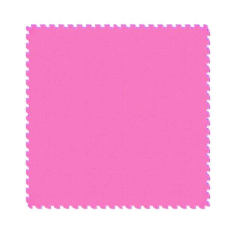 Evamats Puzzle Polos Alas Lantai - Pink [4 Pcs/60 x 60]