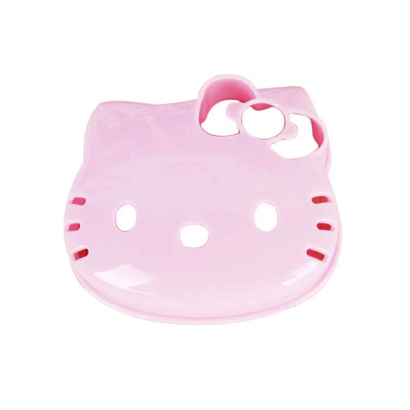 Hello Kitty HK Head Cetakan Roti Tawar - Pink