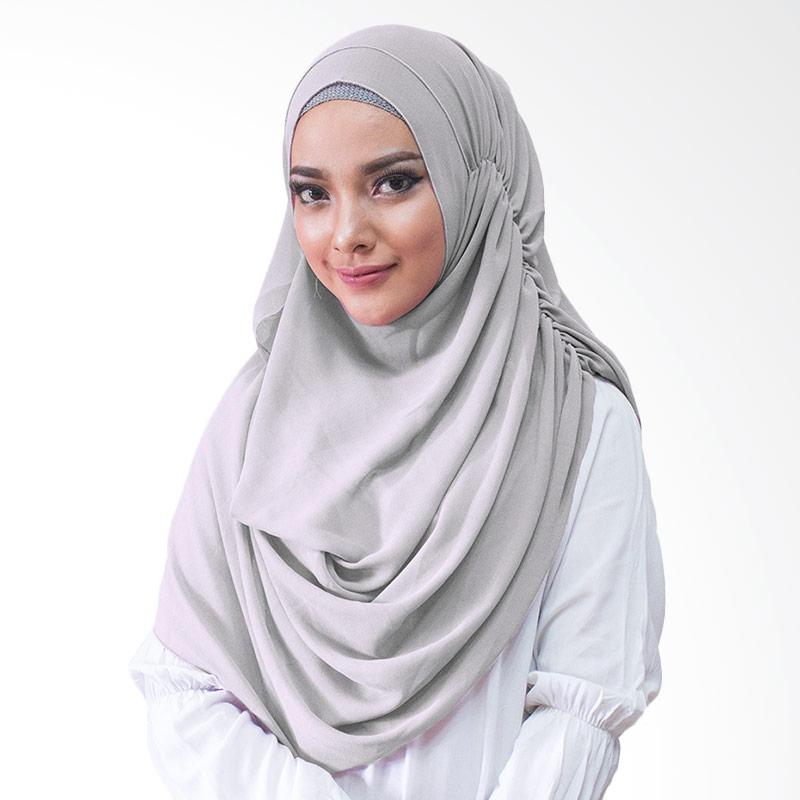Milyarda Hijab Nurmala Kerudung Instan - Abu