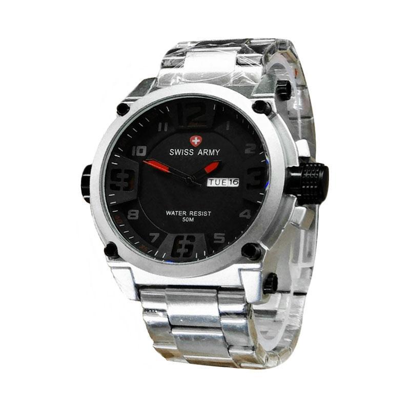 Swiss Army SA7169 SW Jam Tangan Pria - Silver
