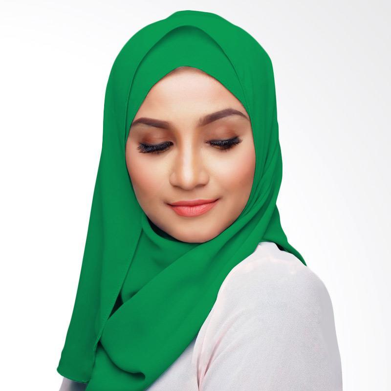 Aitana Hijab KD051 Kerudung Polos Segiempat - Hijau Daun