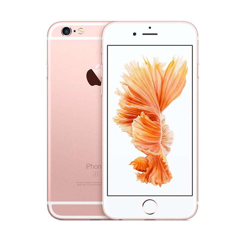 Diskon Apple iPhone 6S 64GB Smartphone – Rose Gold [Refurbished/Garansi Distributor]