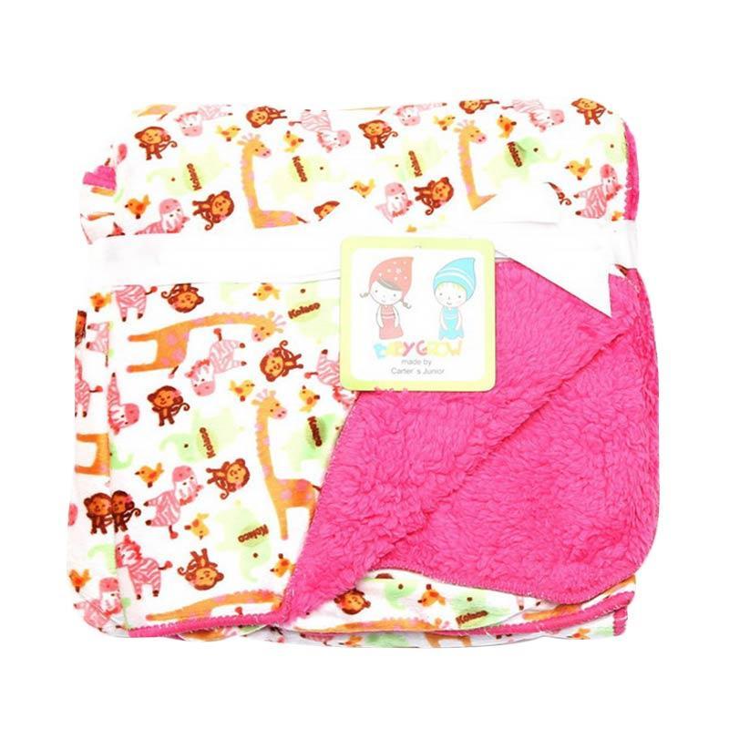 Chloe Babyshop Grow S207B Selimut Baby - Pink