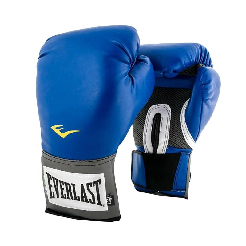 Everlast Pro Style Training Glove - Blue [12 Oz]