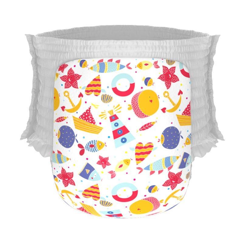 Happy Diapers Pant Popok Bayi - By The Sea [Size L/26 pcs/A06]