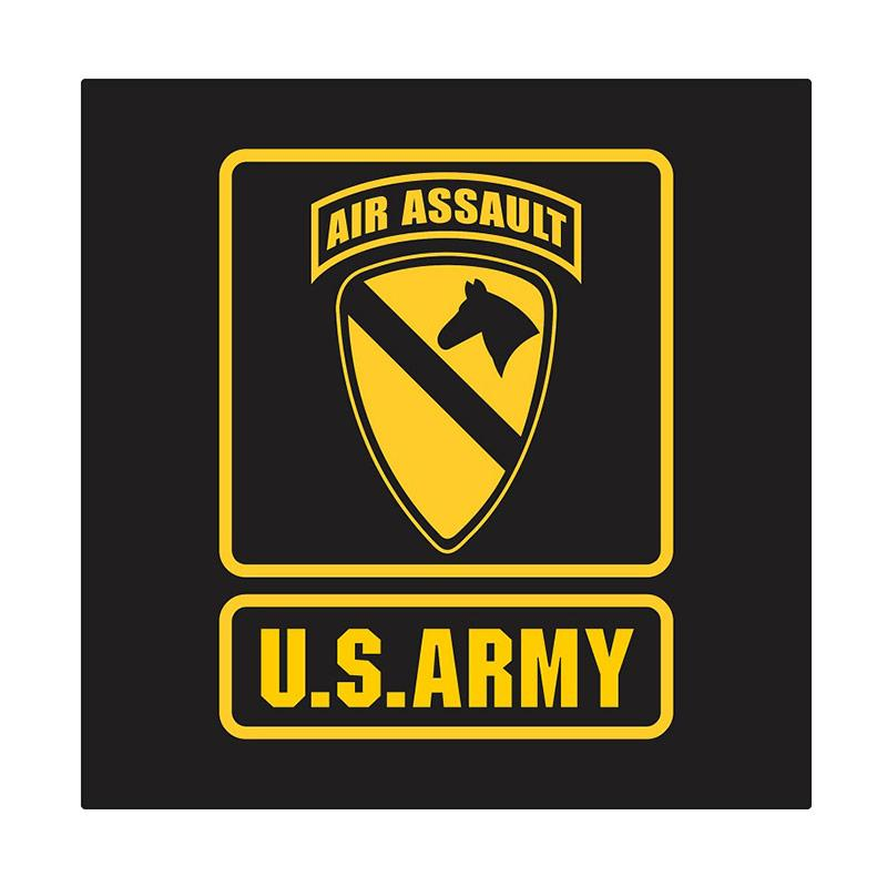 Kyle US Army 1st Cavalry Air Assault Cutting Sticker