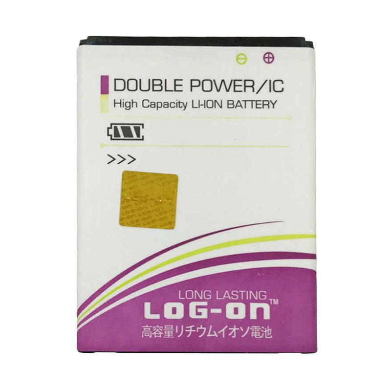 Log On Double Power Battery for Evercoss A6T [1900 mAh]