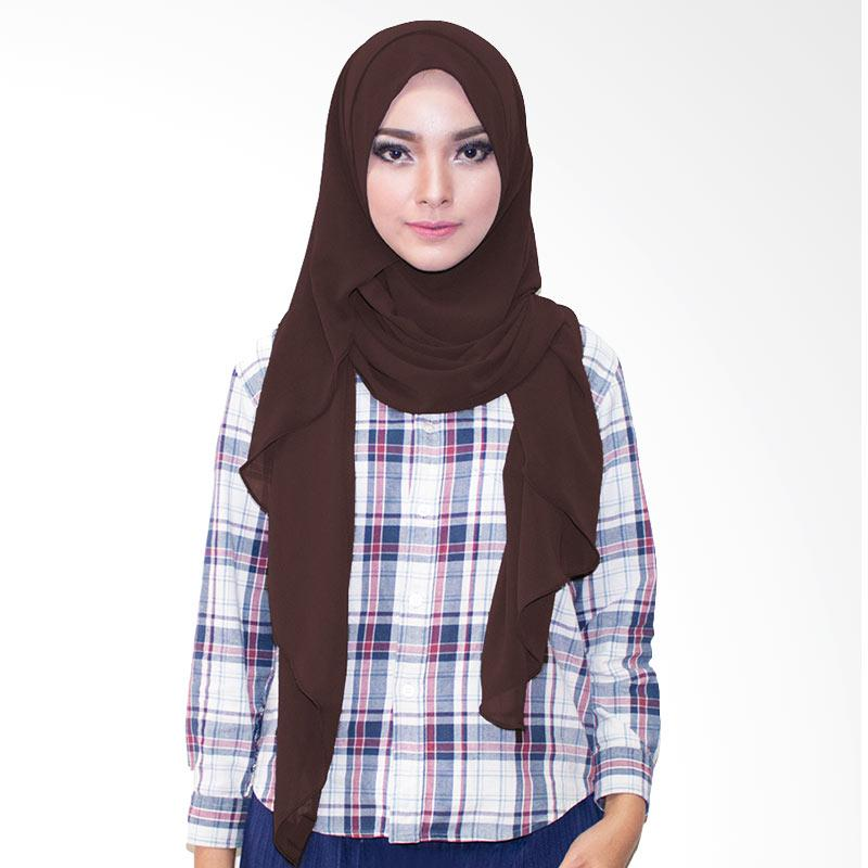 Milyarda Hijab Farha Kerudung Instan - Coklat