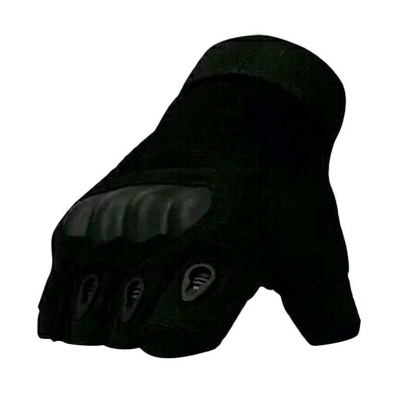 harga OEM Tactical Military Half Finger Sarung Tangan - Hitam Blibli.com