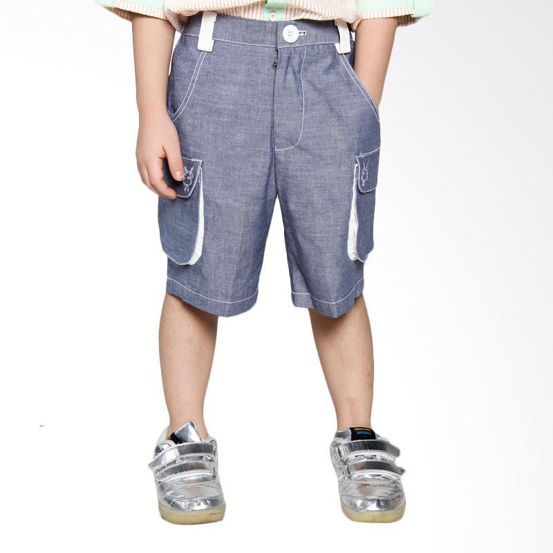harga Diddlydoo Rocky Short Celana Anak Laki-Laki - Blue Blibli.com