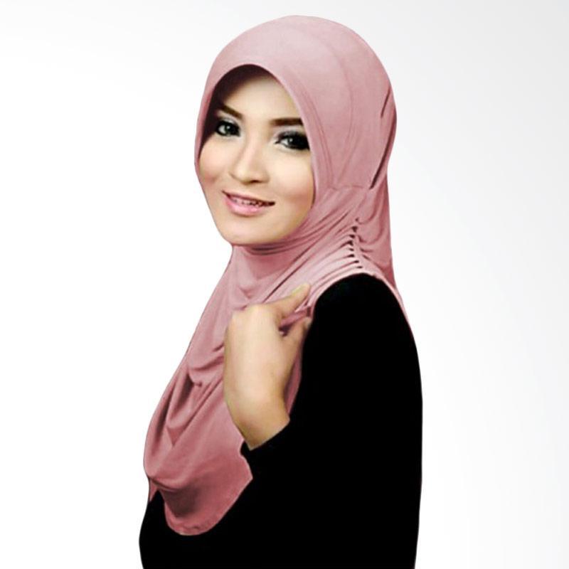 Milyarda Hijab Instant Rumana - Dusty Pink