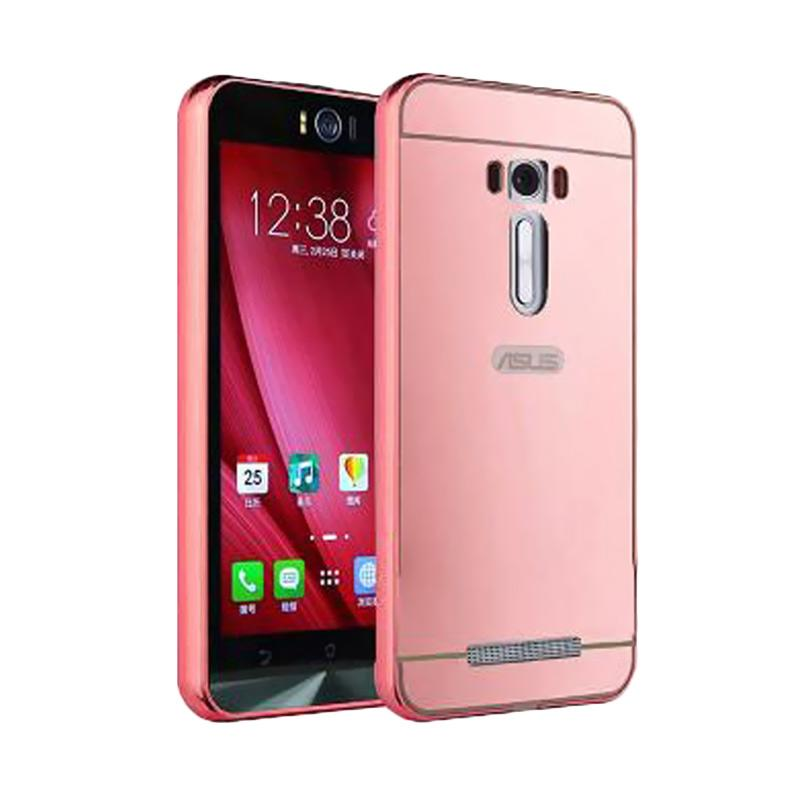 harga OEM Bumper Mirror Sliding Casing for Asus Zenfone 3 5.2 Inch - Rose Gold Blibli.com