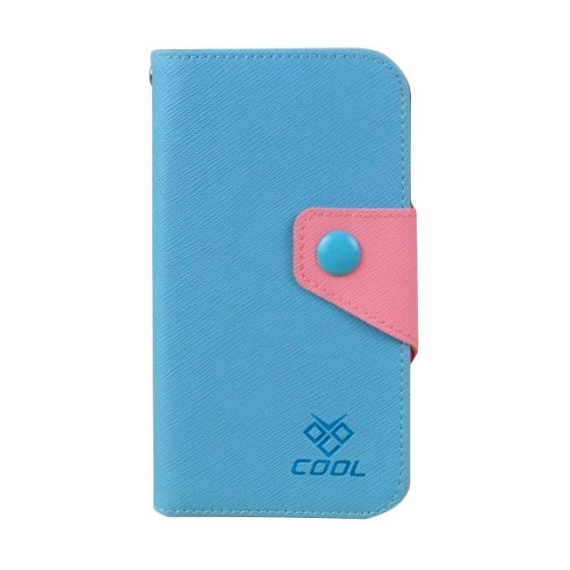 OEM Case Rainbow Cover Casing for Huawei Ascend 6X - Biru