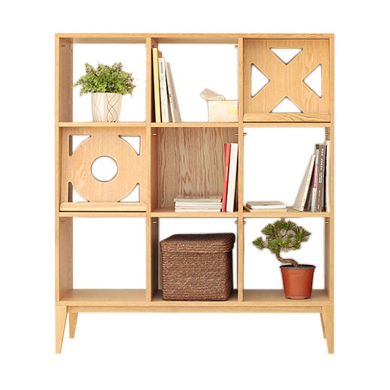 Prissilia Deadwood Pine Cabinet Rak