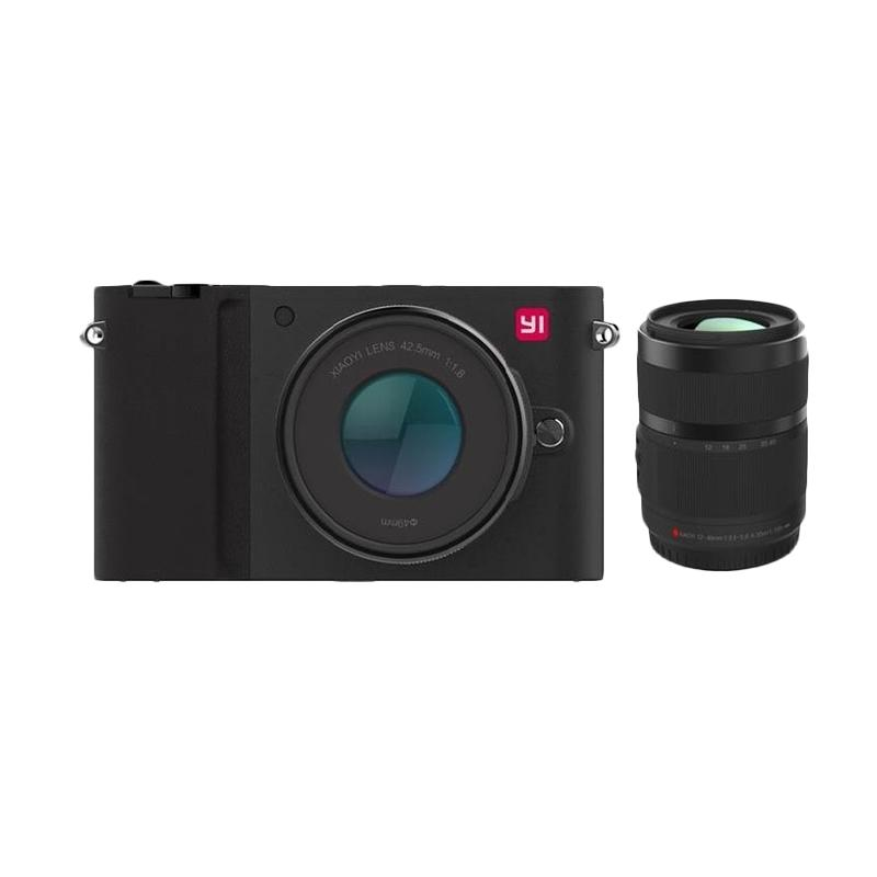 Xiaomi Yi M1 Kamera Mirrorless with 12-40mm F3.5-5.6 Lens