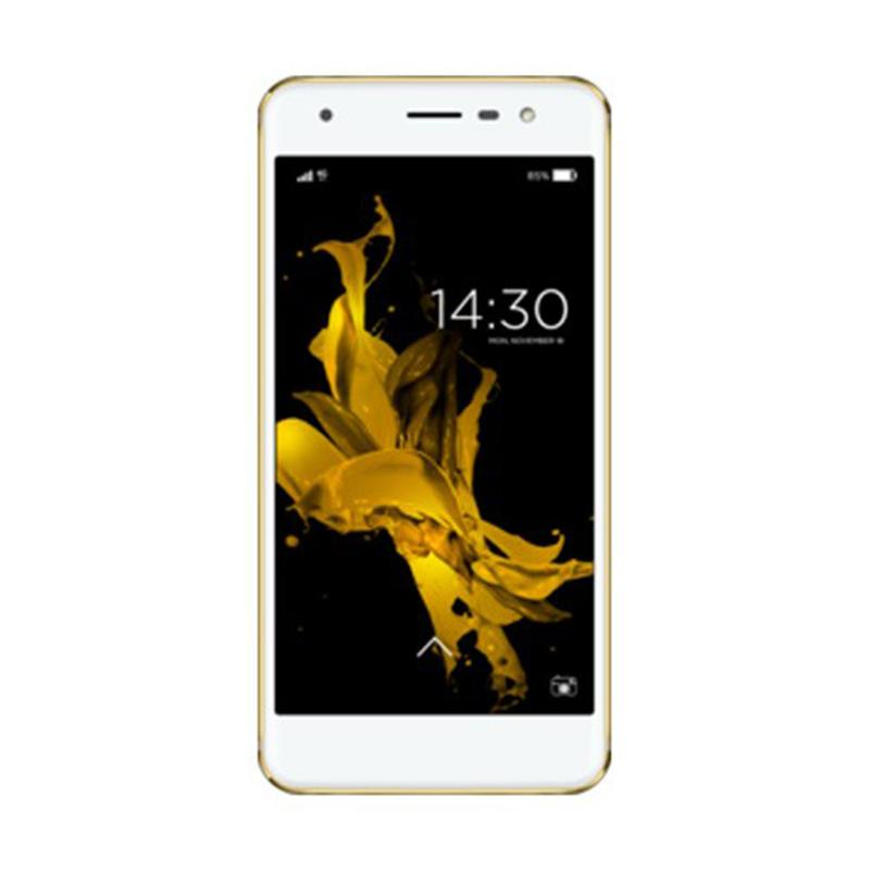 harga Advan G1 Smartphone - Gold [16 GB/RAM 3 GB] + Free Voucher MAP Rp 200.000 Blibli.com