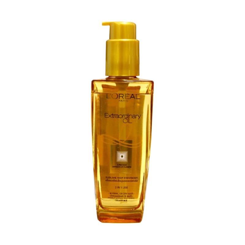 L Oreal Extraordinary Oil Serum Rambut Gold 100 g