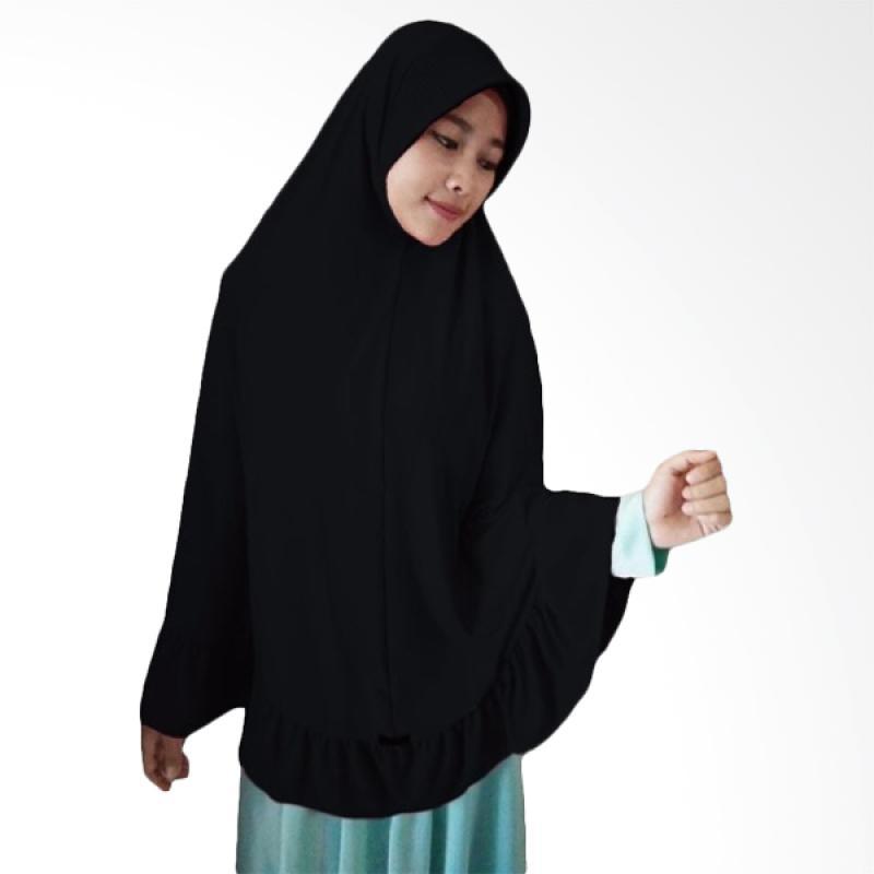 Milyarda Hijab Instant Bergo Pet Ihrom - Black