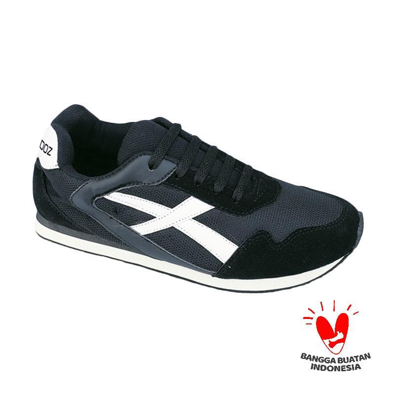 Raindoz Sneakers Upton RDA 011 Sepatu Pria - Hitam