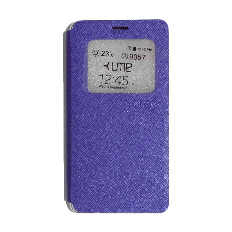 Ume Flipshell Flip Cover Casing for Vivo Y51 - Purple