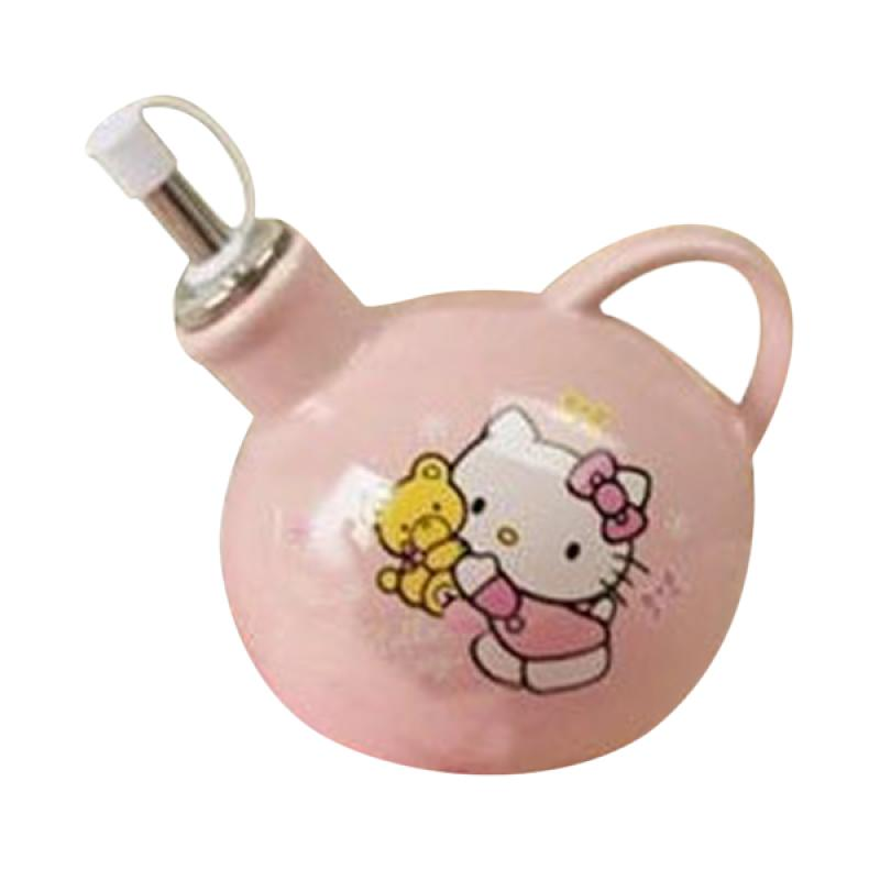 Hello Kitty HK Bear Botol Kecap Keramik - Pink