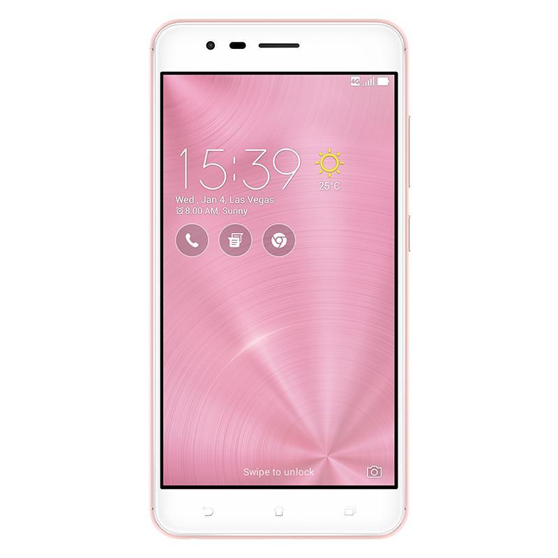 Asus ZenFone Zoom S ZE553KL 4GB/64GB - Rose Gold Garansi Resmi