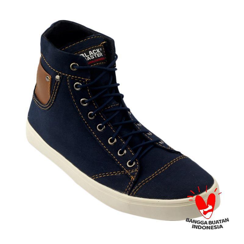 harga Black Master Hayley Series Sepatu Pria - Blue Blibli.com