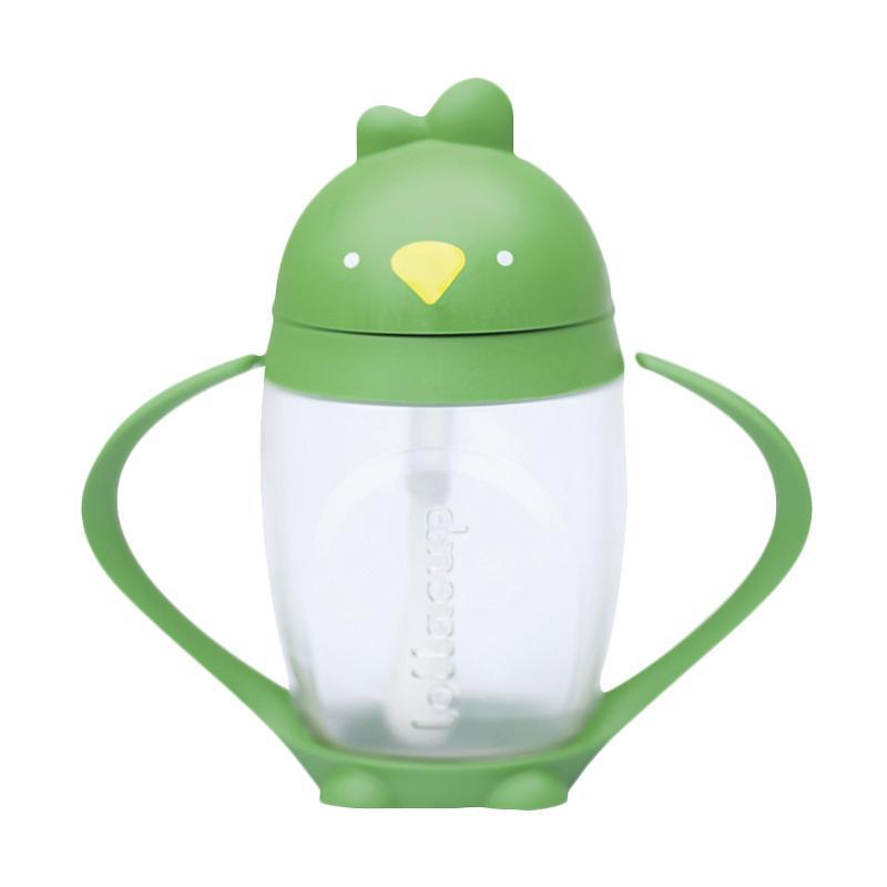 Lollaland Innovative Straw Cup - Green [10 oz/ 296 mL]