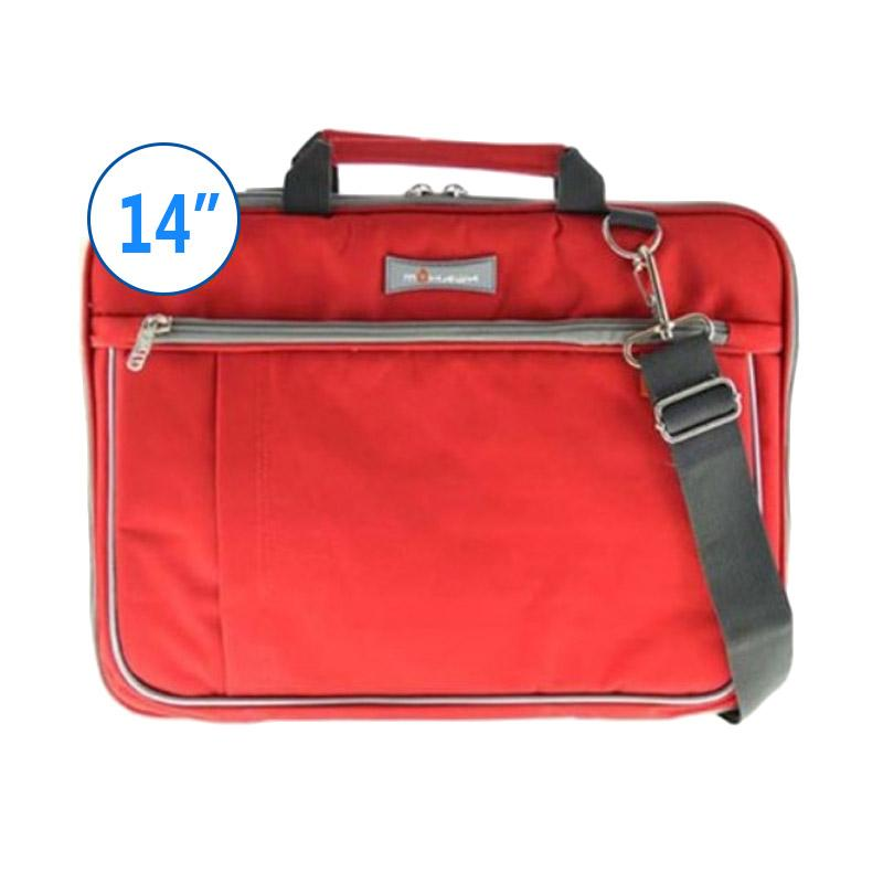 Mohawk DN77 Notebook Softcase Tas Laptop - Red [14 Inch]