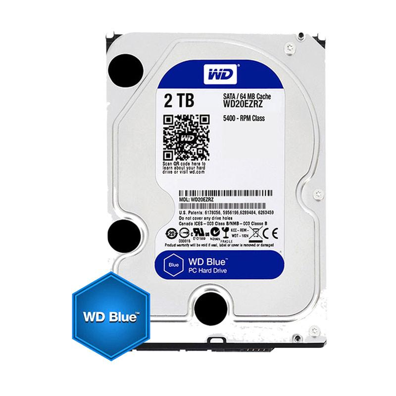 WD Caviar Blue Hard Disk Internal  [2 TB/ 5200 RPM]
