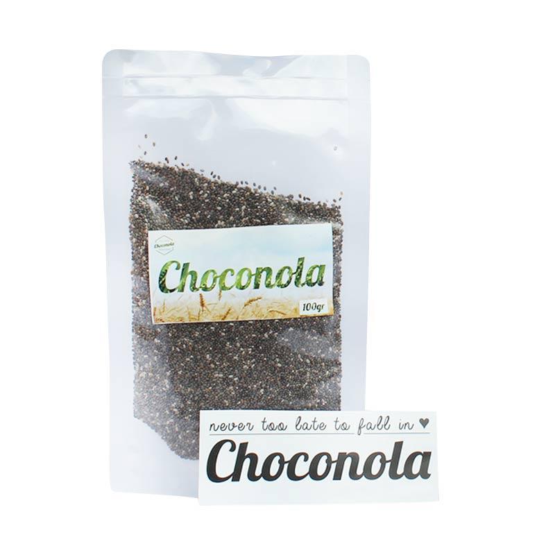 Choconola Organic Chia Seeds Makanan Organic [100 g]