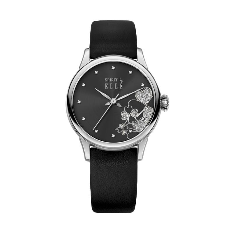 Elle Spirit ES20054S05X Leather Watches Jam Tangan Wanita