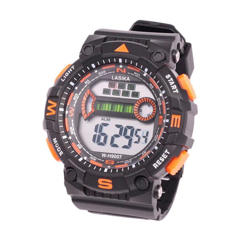 Lasika W-H 9007 Digital Unisex Jam Tangan Sport - Orange
