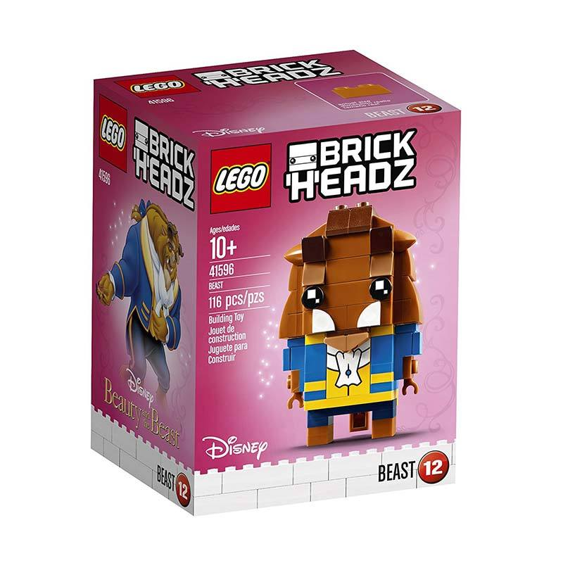 Lego Brick Headz 41596 Disney Beast Blocks & Stacking Toys
