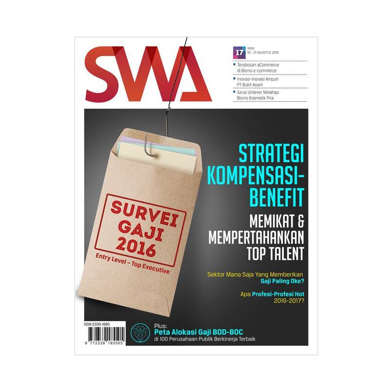 SWA Edisi 17-2016 18 Agustus-31 Agustus 2016 Survey Gaji 2016 Majalah Bisnis